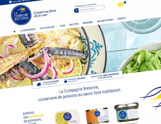 la compagnie bretonne site web travers