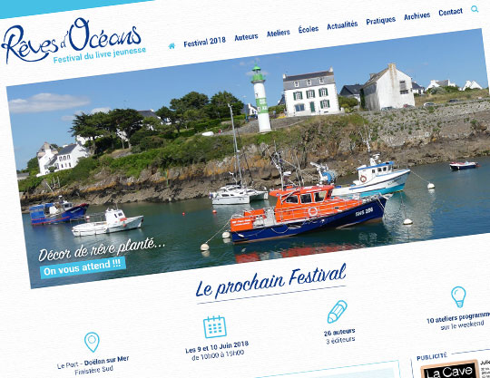 Festival Reves d'Oceans Livre Jeunesse