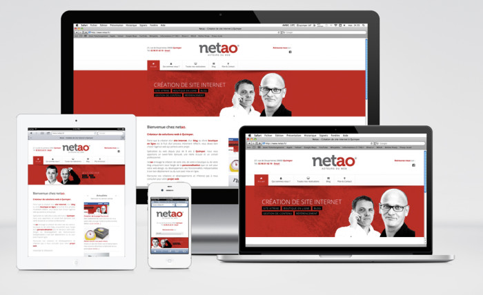 Responsive Design Screen Netao