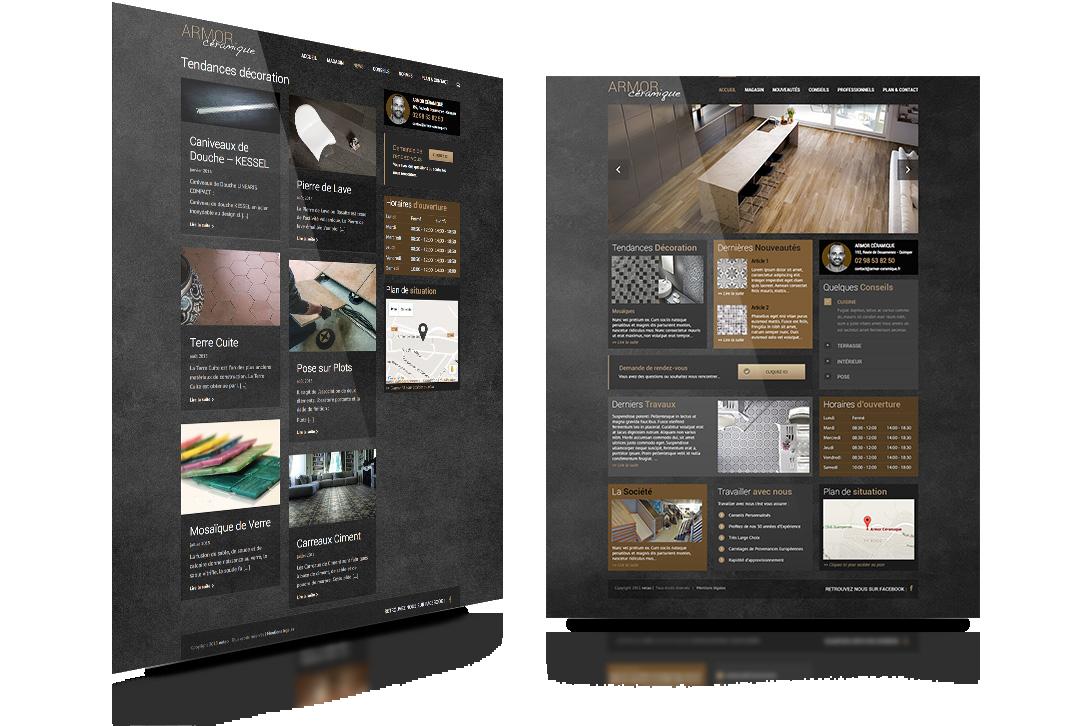 armor céramique site web