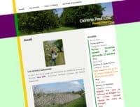 Cidrerie Paul Coic site web travers