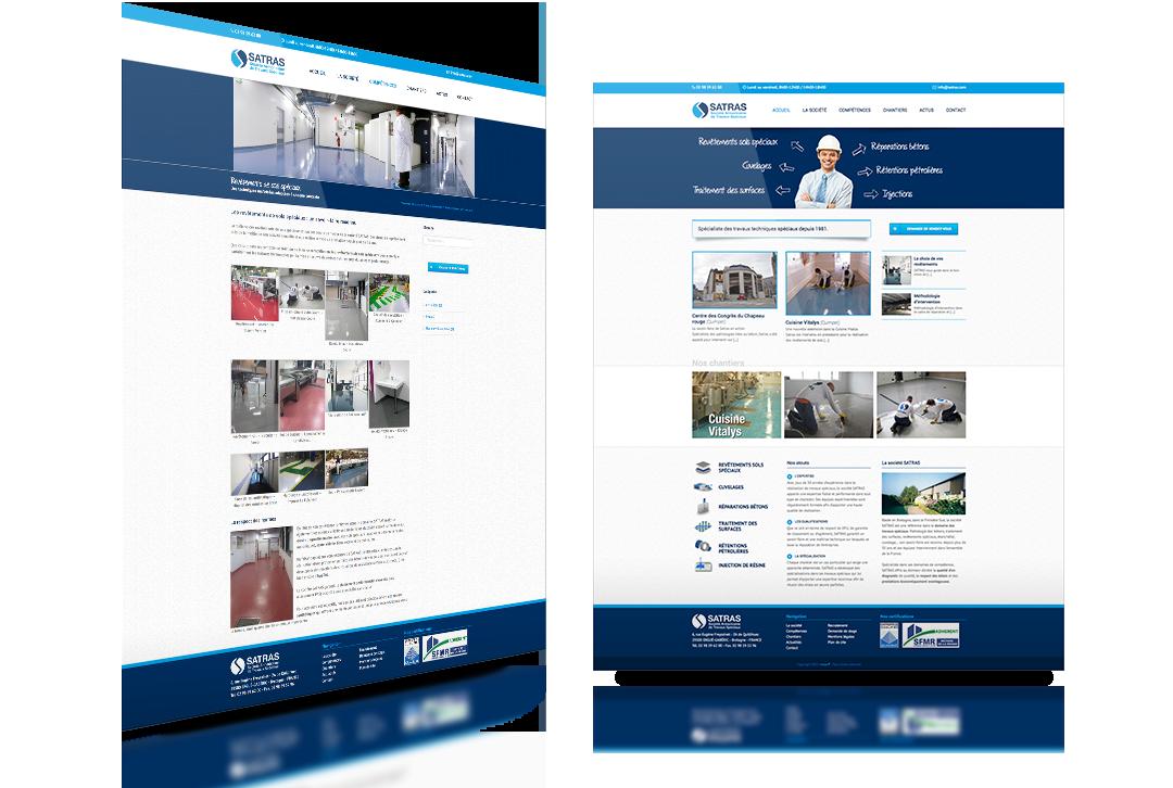 satras site web