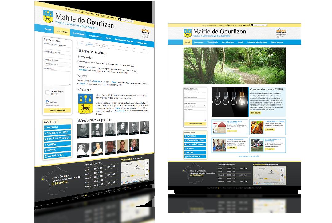 mairie de gourlizon site web