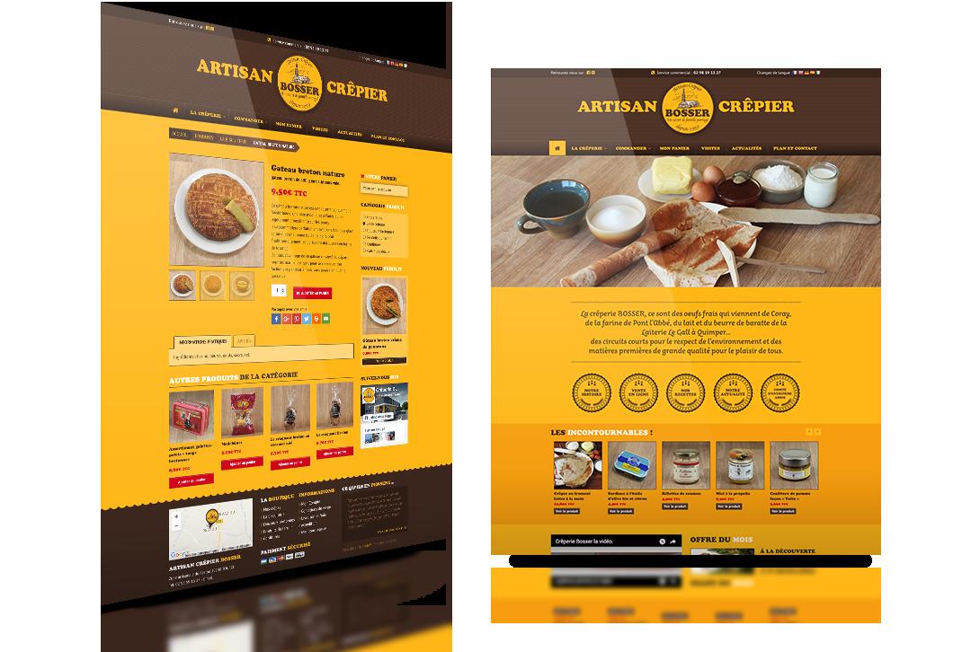 artisan crêpier bosser site web