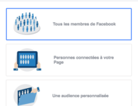 Exemple audience facebook