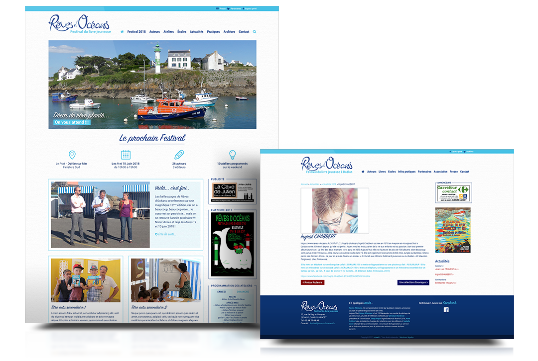 reves ocean site web