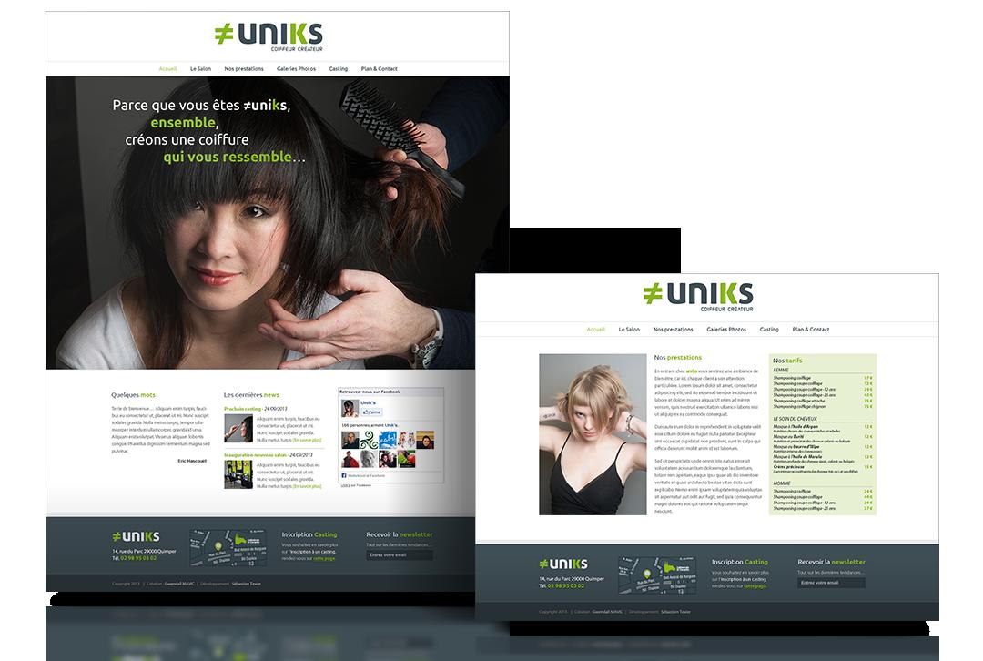 uniks site web