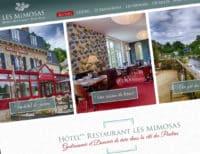 Hôtel** Restaurant Les Mimosas