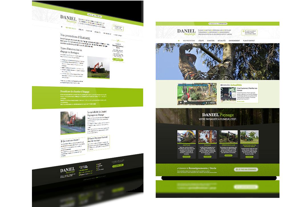 daniel paysage site web