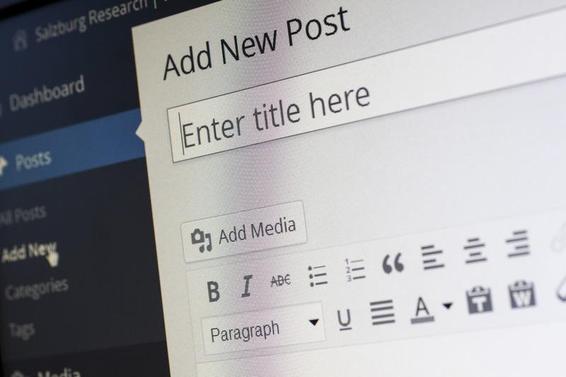 Création de site internet sous WordPress