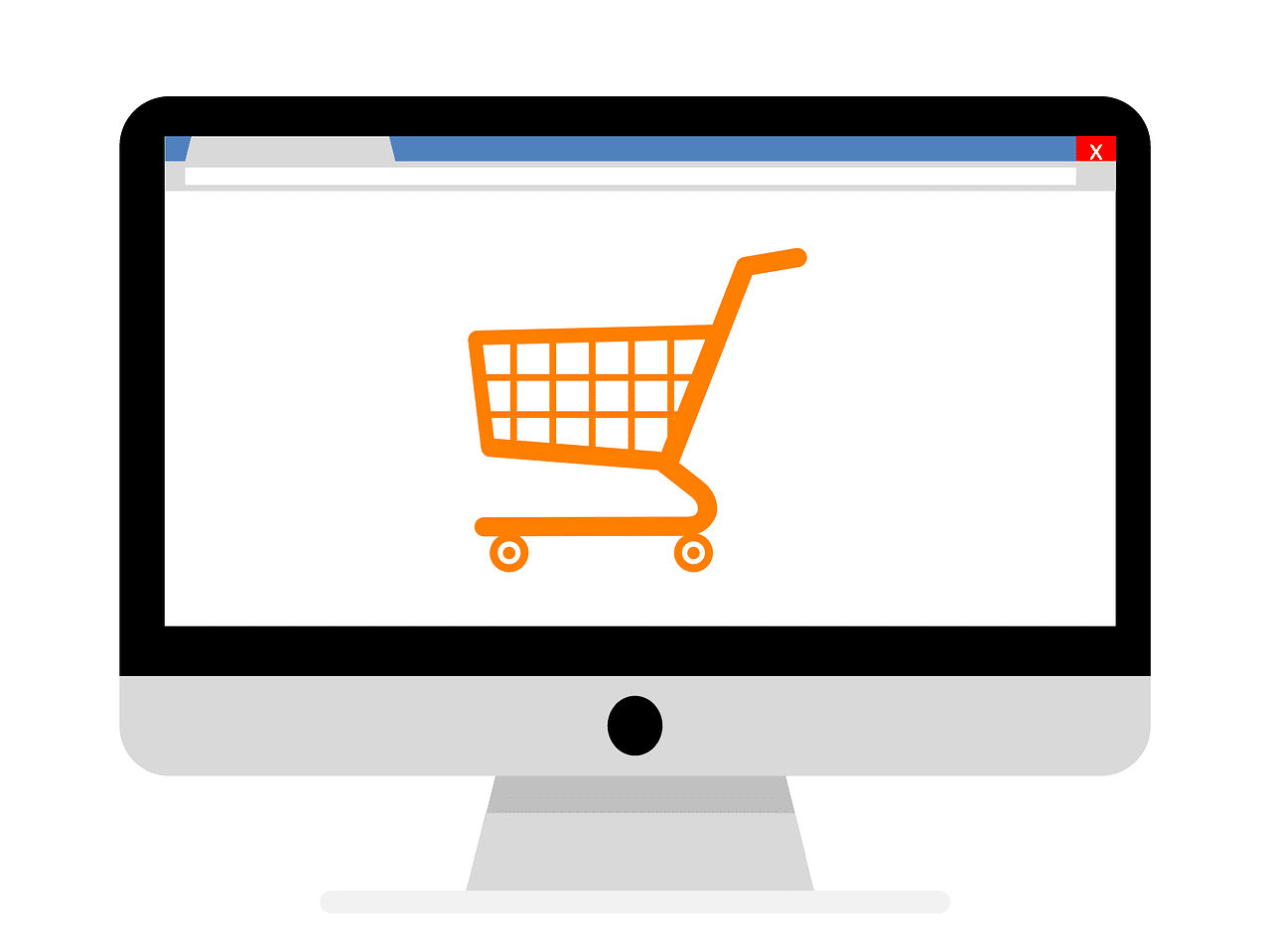 Achat commerce en ligne