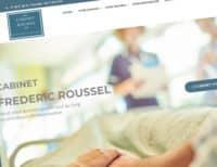 Création du site internet du Cabinet Roussel, cabinet d'avocats à Paris