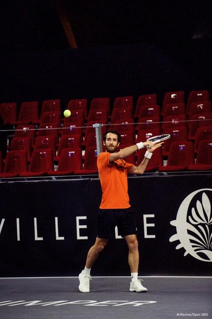 Le joueur de tennis Constant Lestienne