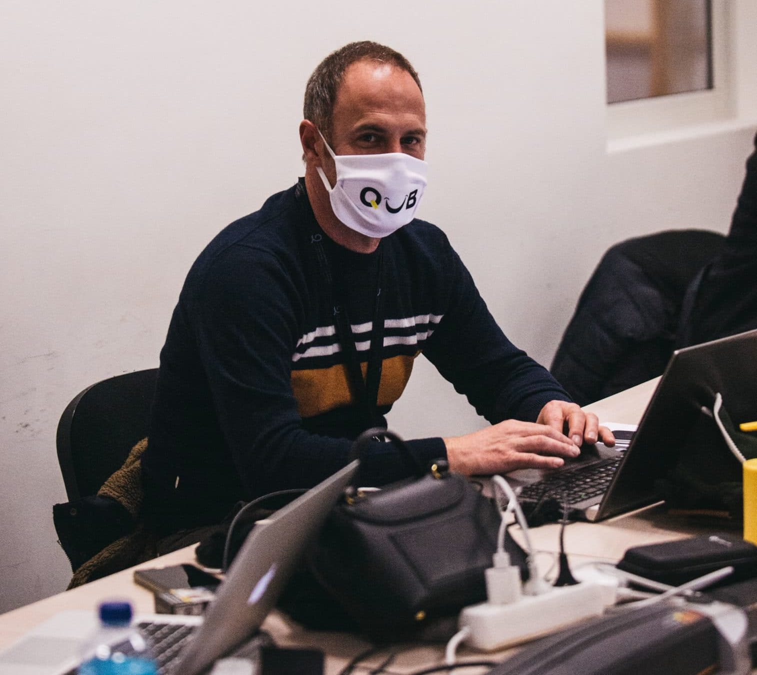 Azel Mevellec, responsable de l'organisation de l'Open de Quimper