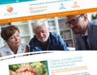 Création du site internet d'Accadia