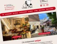 Création du site internet de ChezMax, restaurant à Quimper