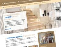 Menuiserie des Abers, site internet développé par netao