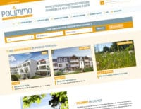 Création du site internet de Polimmo, promoteur immobilier en Bretagne