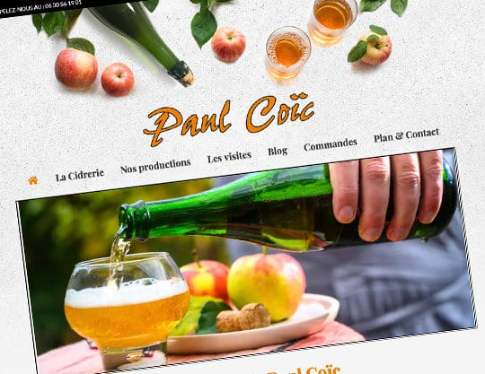 Cidrerie Paul Coïc