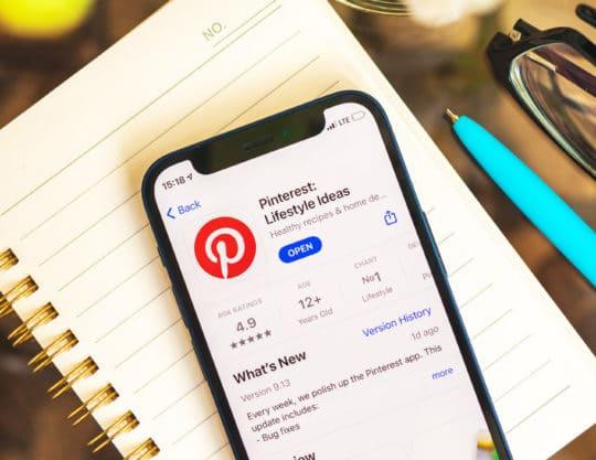 Compte Pinterest Business