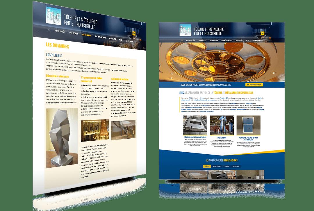Nouvelle version du site internet d'ITEC