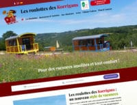 Site internet de la Roulotte des Korrigans