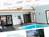 Site internet de la Villa Marine
