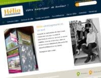 Création du site internet d'Helio Aménagement